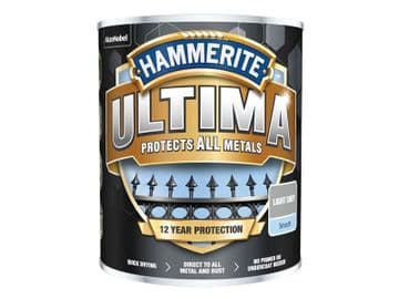 Ultima Metal Paint Smooth Light Grey 750ml